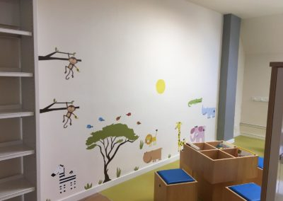 renovación biblioteca infantil