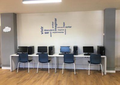 renovación biblioteca aula