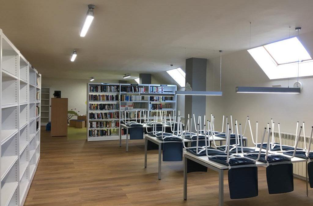 Renovación de biblioteca municipal