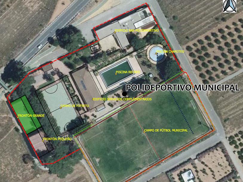 Actuaciones de mejora de las instalaciones del Polideportivo Municipal de Marines