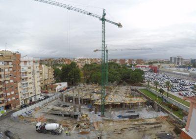 Construcción Bluedec Clínica Osteopatía Virgen de la Fuensanta vista 1
