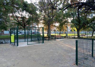 Construcción parque de socialización canina Valencia vista 3