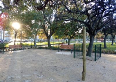 Construcción parque de socialización canina en Valencia