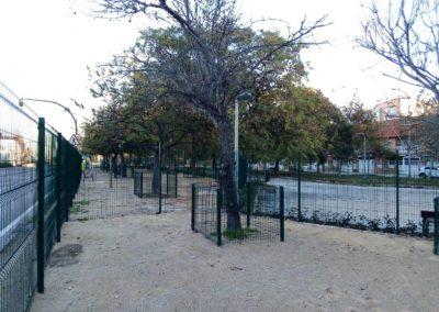 Construcción parque de socialización canina Valencia