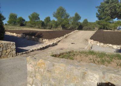 Acondicionamiento del barranco del Rubio (La Cañada)