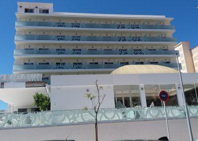 Reforma Hotel Villaluz fachada 14