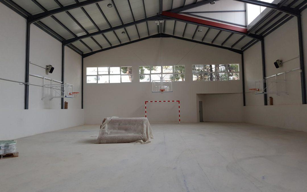 Construcción de gimnasio