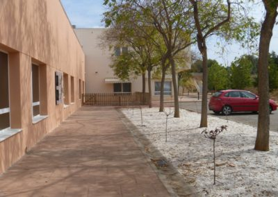 Reforma centro geriátrico vista 2