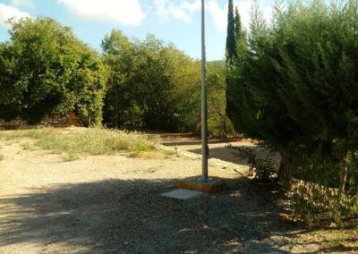 Bluedec Exterior pista de pádel 7 aguas