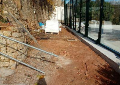 Bluedec construcción pista de pádel 7 Aguas 6