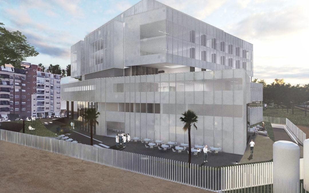 Construcción Clínica Universitaria Osteopatía Virgen de la Fuensanta (Murcia)