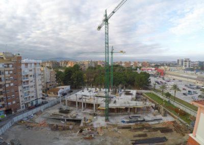 Construcción Bluedec Clínica Osteopatía Virgen de la Fuensanta