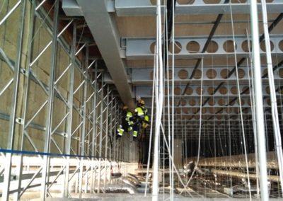 Instalación malla metálica Aeropuerto de Alicante