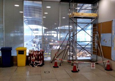 Instalación malla metálica Aeropuerto de Alicante vista 2