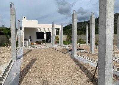Construcción de vivienda en Valencia cimientos 5