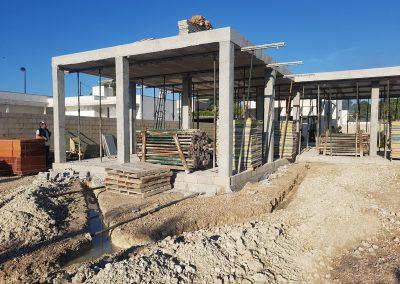 Construcción de vivienda en Valencia cimientos 7