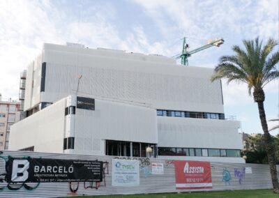 Construcción Clinica Universitaria, Virgen de la Fuensanta.