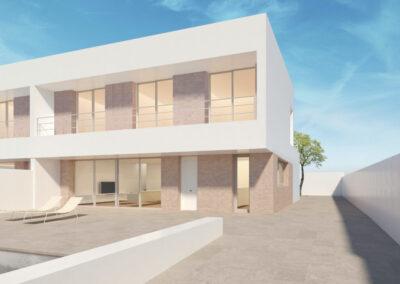 Construcción de viviendas en Torrente